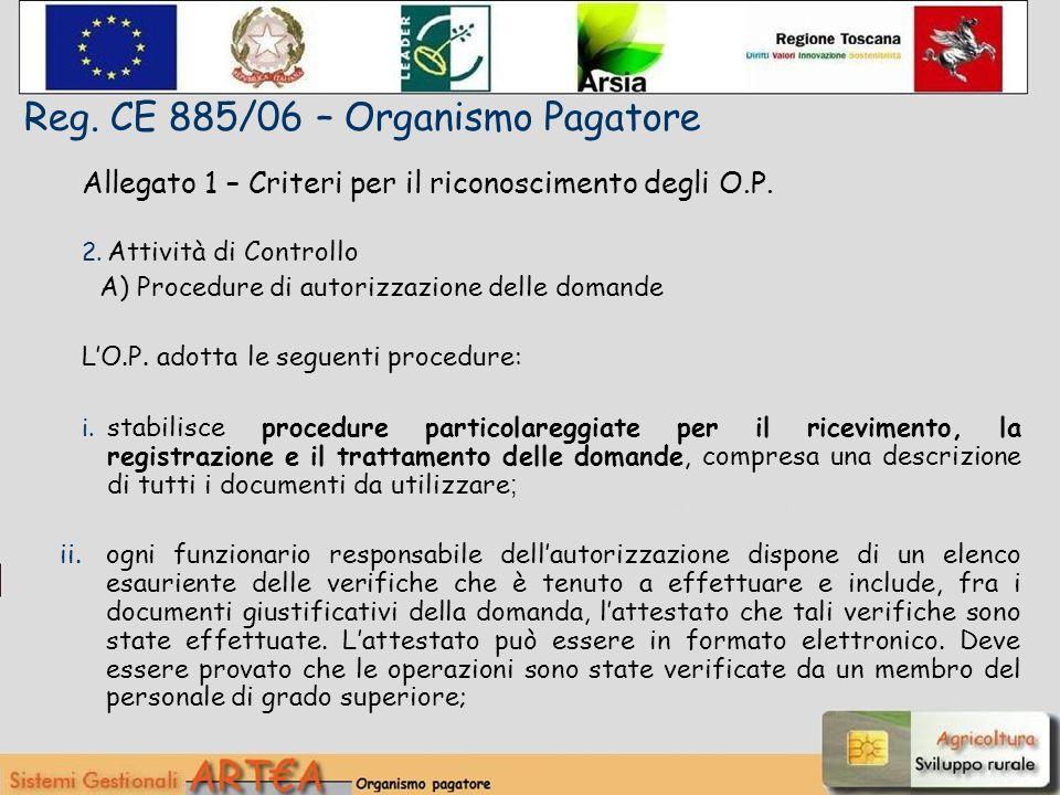Allegato 1 – Criteri per il riconoscimento degli O.P.
