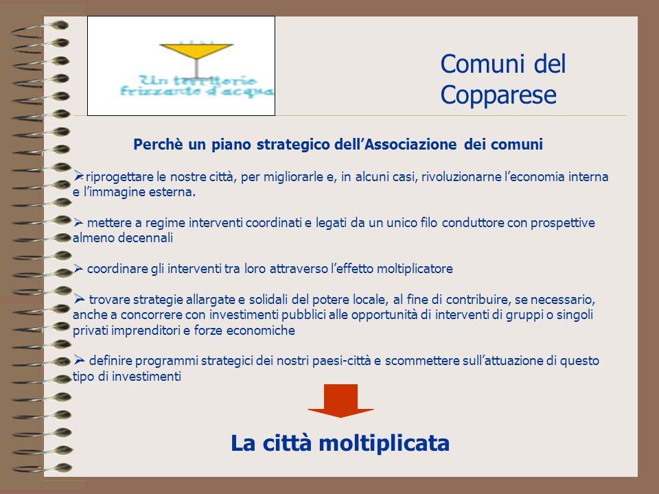Comuni del Copparese - riprogettare le nostre città, per migliorarle e, in alcuni casi, rivoluzionarne leconomia interna e limmagine esterna.
