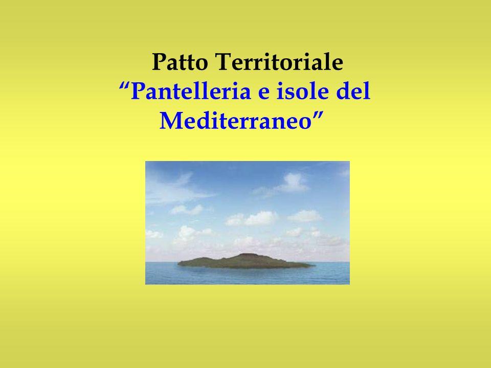 Patto Territoriale Pantelleria e isole del Mediterraneo