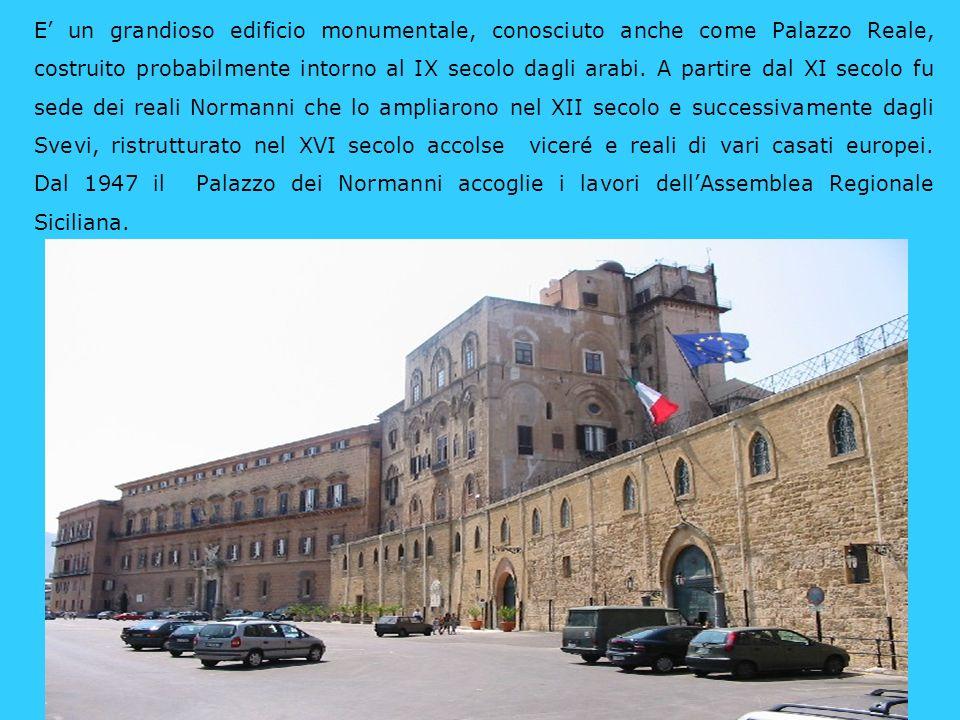E lattuale sede del municipio di Palermo, si affaccia su piazza Pretoria che prende il nome dalla omonima fontana.