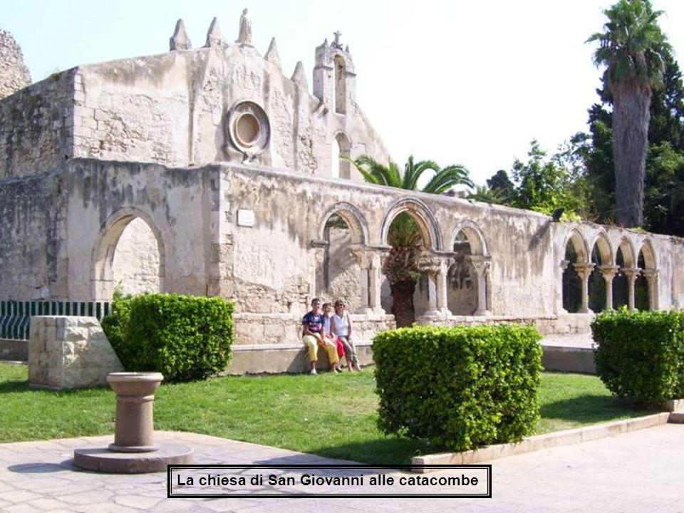 La chiesa di San Giovanni alle catacombe