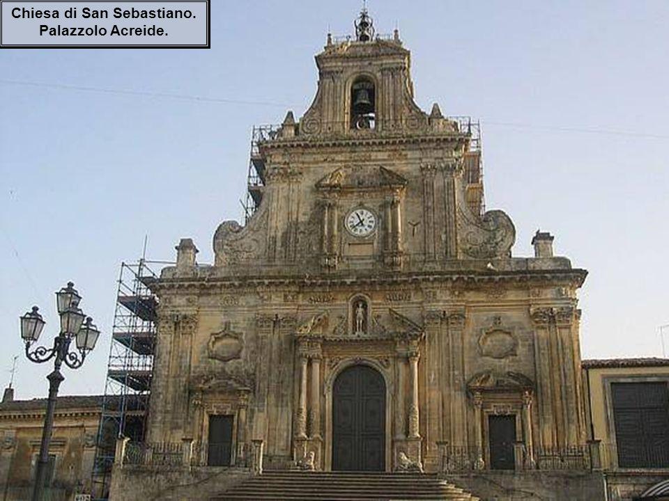 Chiesa di San Sebastiano. Palazzolo Acreide.