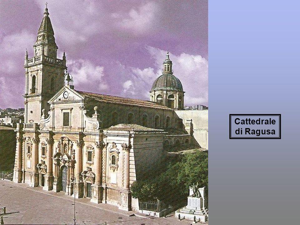 Chiesa di San Giuseppe. Ragusa Duomo di San Giorgio. Ragusa