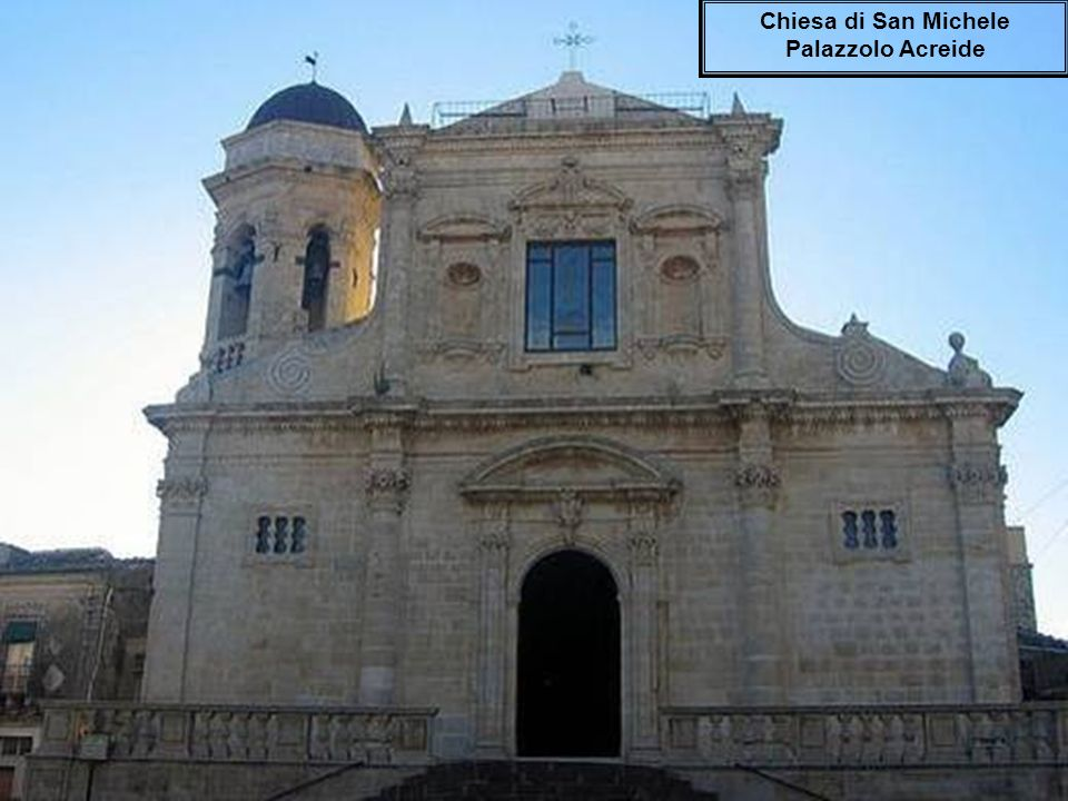 Chiesa di San Michele Palazzolo Acreide