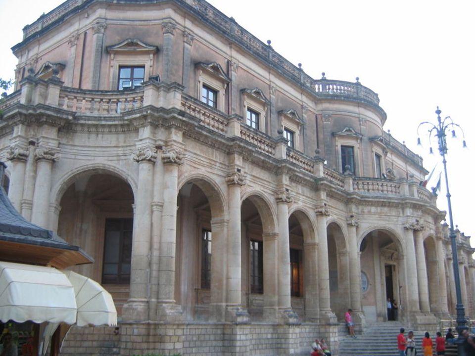 Palazzo Ducezio, Noto, Siracusa