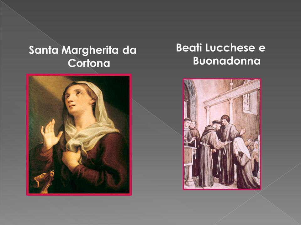 Santa Margherita da Cortona Beati Lucchese e Buonadonna