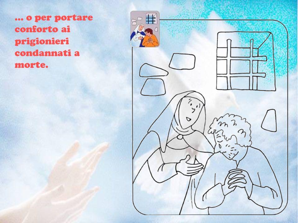 … per assistere gli ammalati, soprattutto i più gravi e abbandonati, come i lebbrosi e gli appestati…
