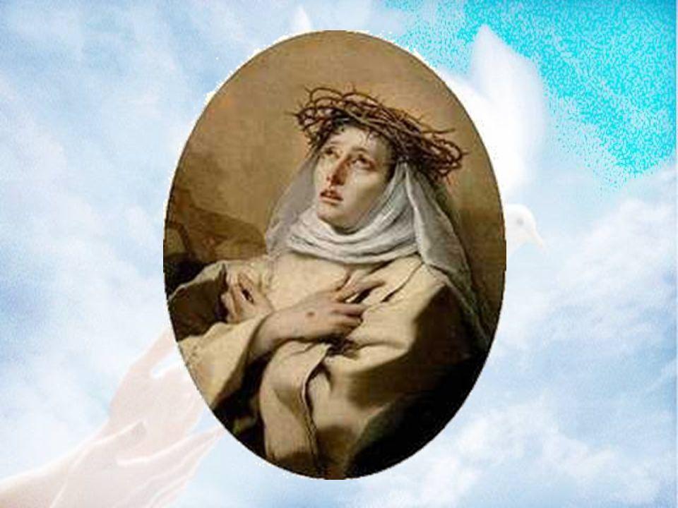Caterina morì a Roma 1l 23 aprile 1380, a soli 33 anni.