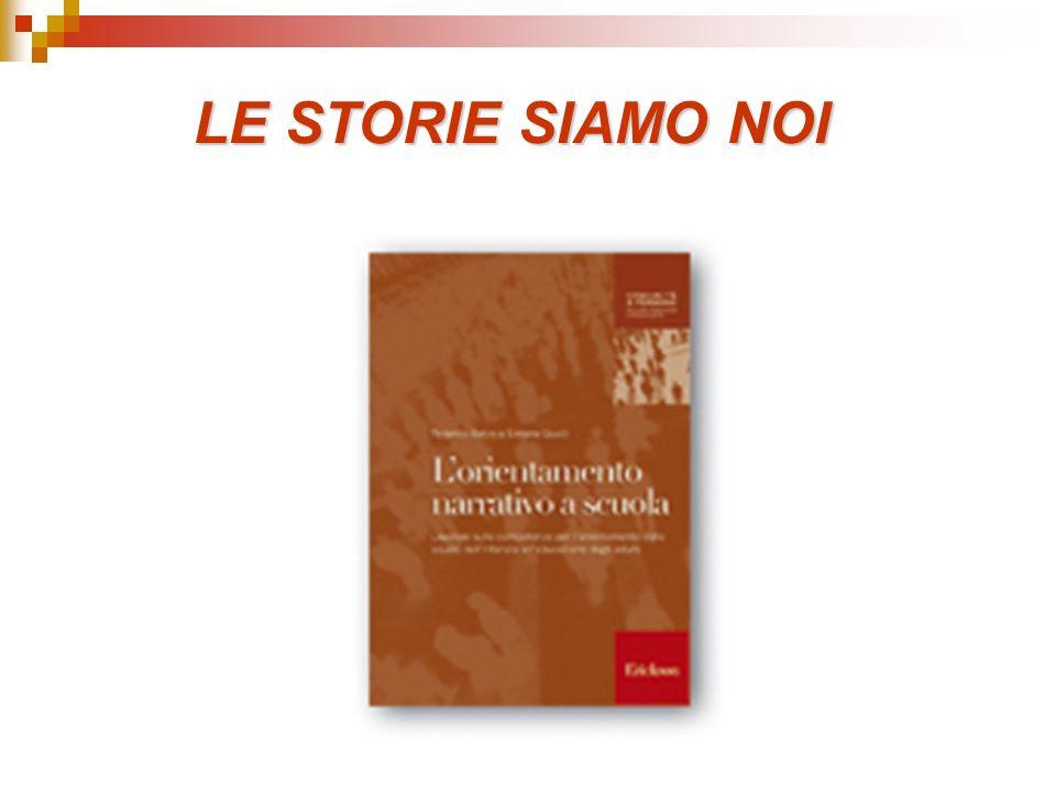 LE STORIE SIAMO NOI