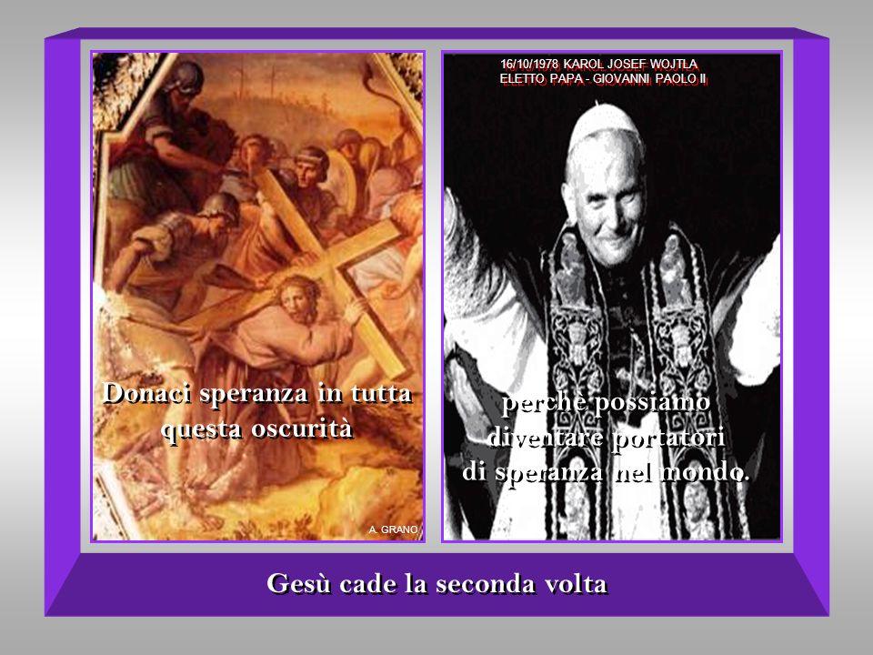 La Veronica asciuga il volto di Gesù donaci il coraggio di unumile bontà. donaci il coraggio di unumile bontà. Ma latto damore imprime nel suo cuore l