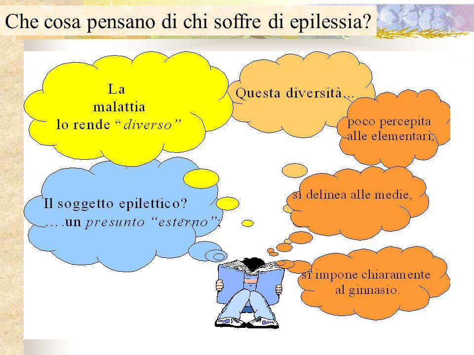 Che cosa pensano di chi soffre di epilessia?