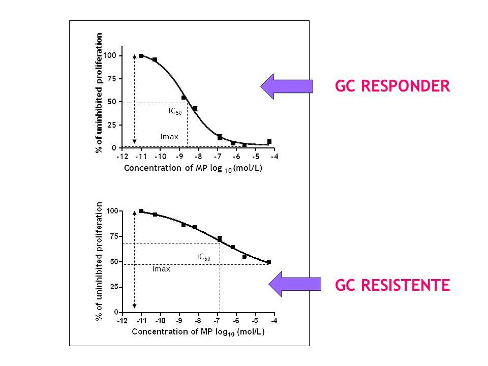GC RESPONDER GC RESISTENTE