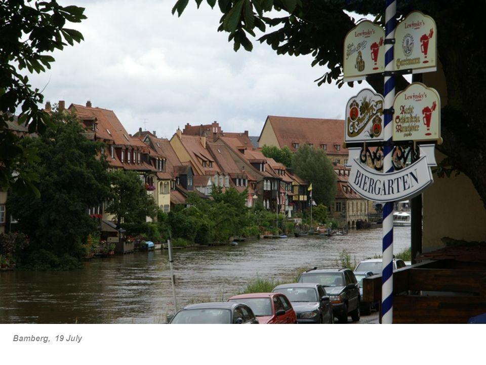 Bamberg, 19 July