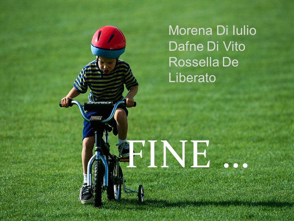 FINE … Morena Di Iulio Dafne Di Vito Rossella De Liberato