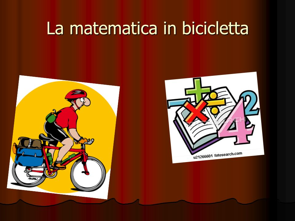 La matematica in bicicletta