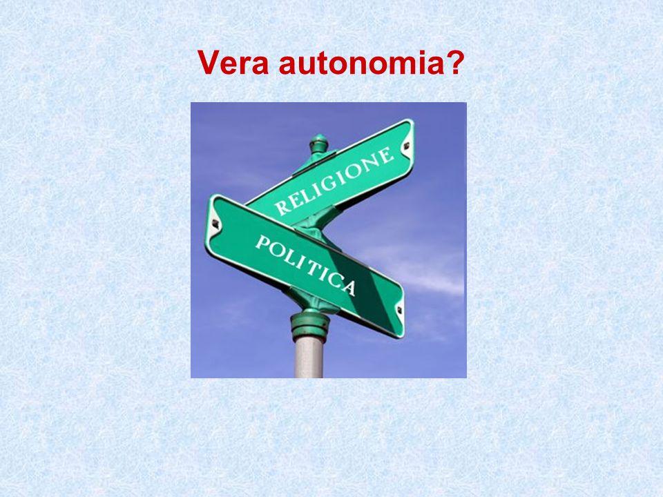 Vera autonomia?