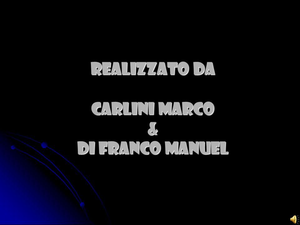 Realizzato da CARLINI MARCO & DI FRANCO MANUEL