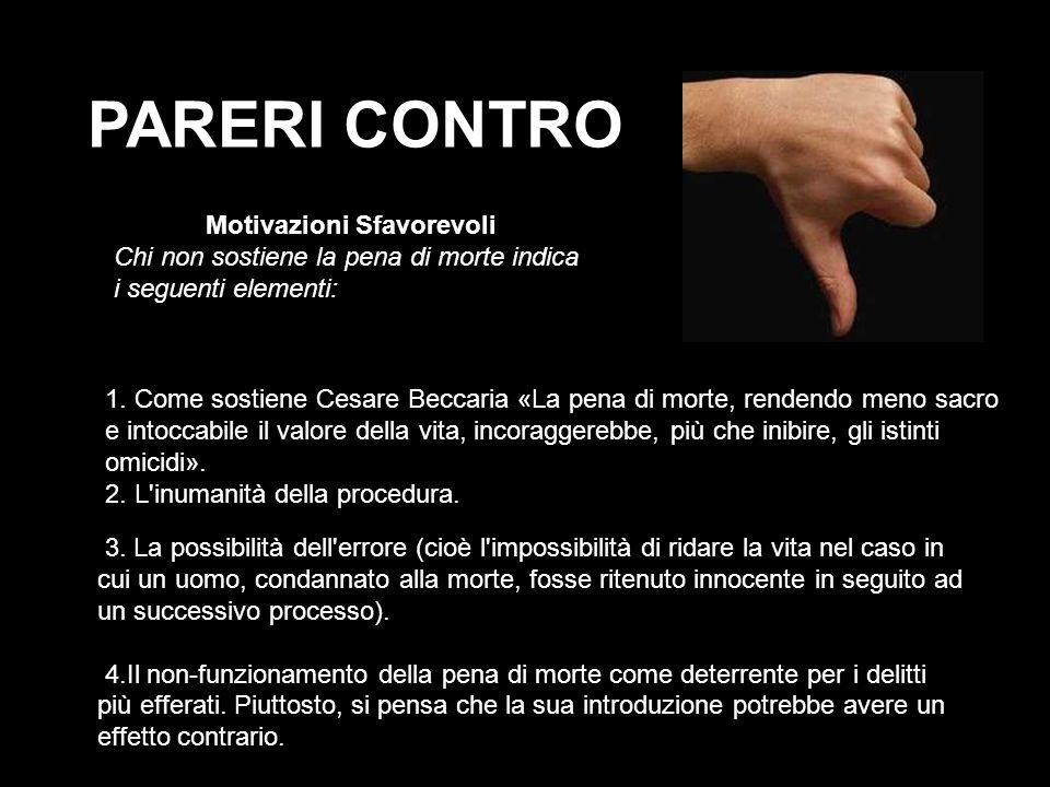 PARERI CONTRO 1.