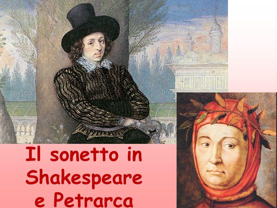 Il sonetto in Shakespeare e Petrarca