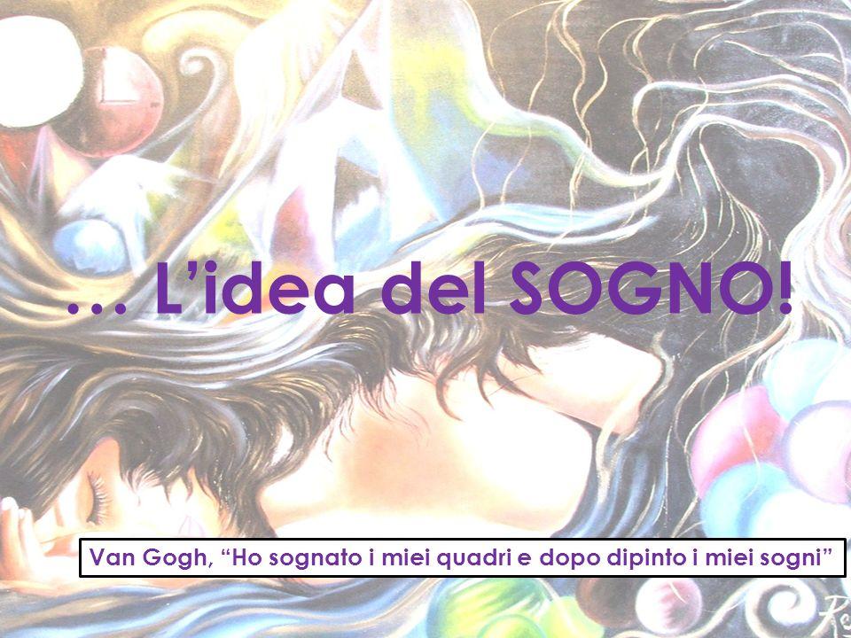 … Lidea del SOGNO! Van Gogh, Ho sognato i miei quadri e dopo dipinto i miei sogni