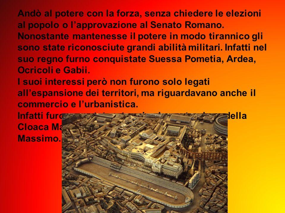 Andò al potere con la forza, senza chiedere le elezioni al popolo o lapprovazione al Senato Romano. Nonostante mantenesse il potere in modo tirannico