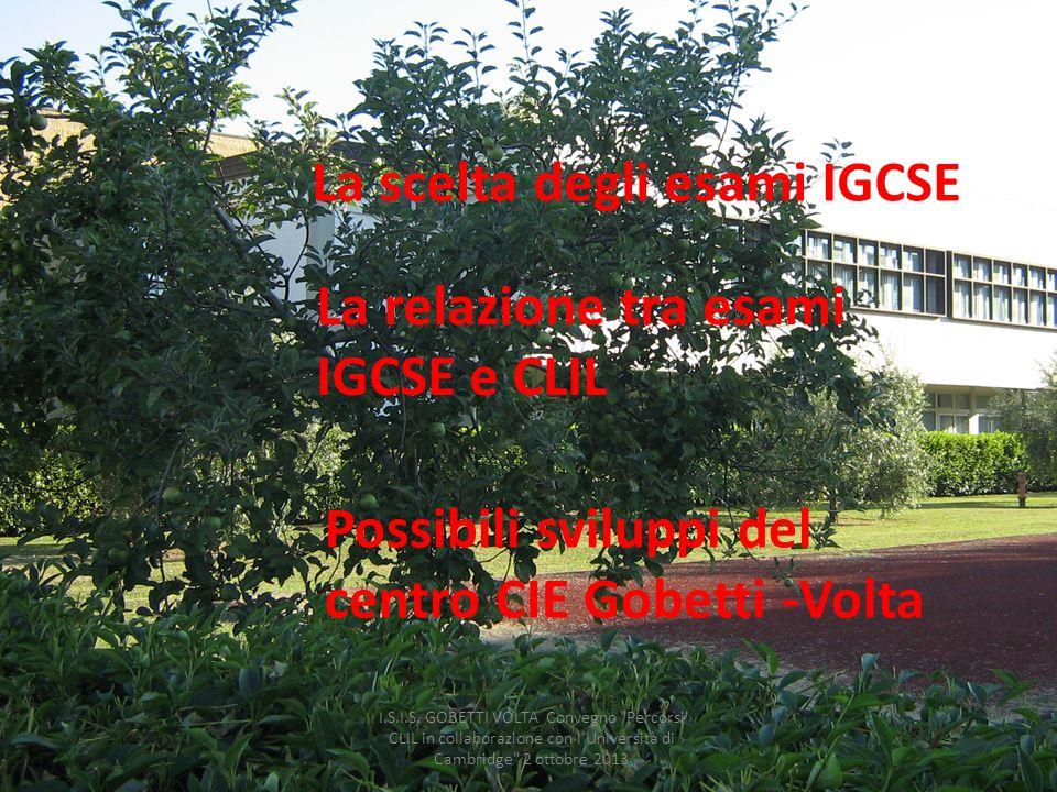 I.S.I.S. GOBETTI VOLTA Convegno