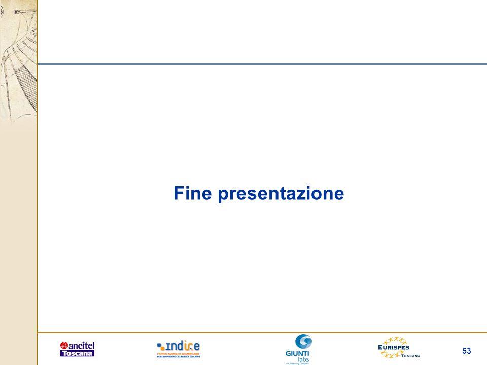 53 Fine presentazione
