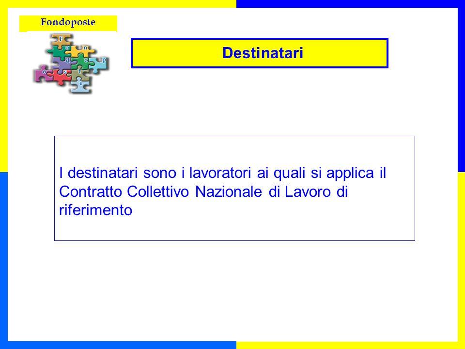Fondoposte Possono aderire a Fondoposte i dipendenti di: Poste Italiane S.p.A.