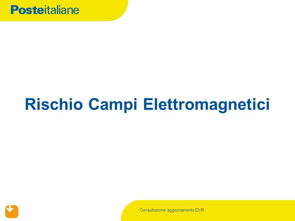 Consultazione aggiornamento DVR Rischio Campi Elettromagnetici