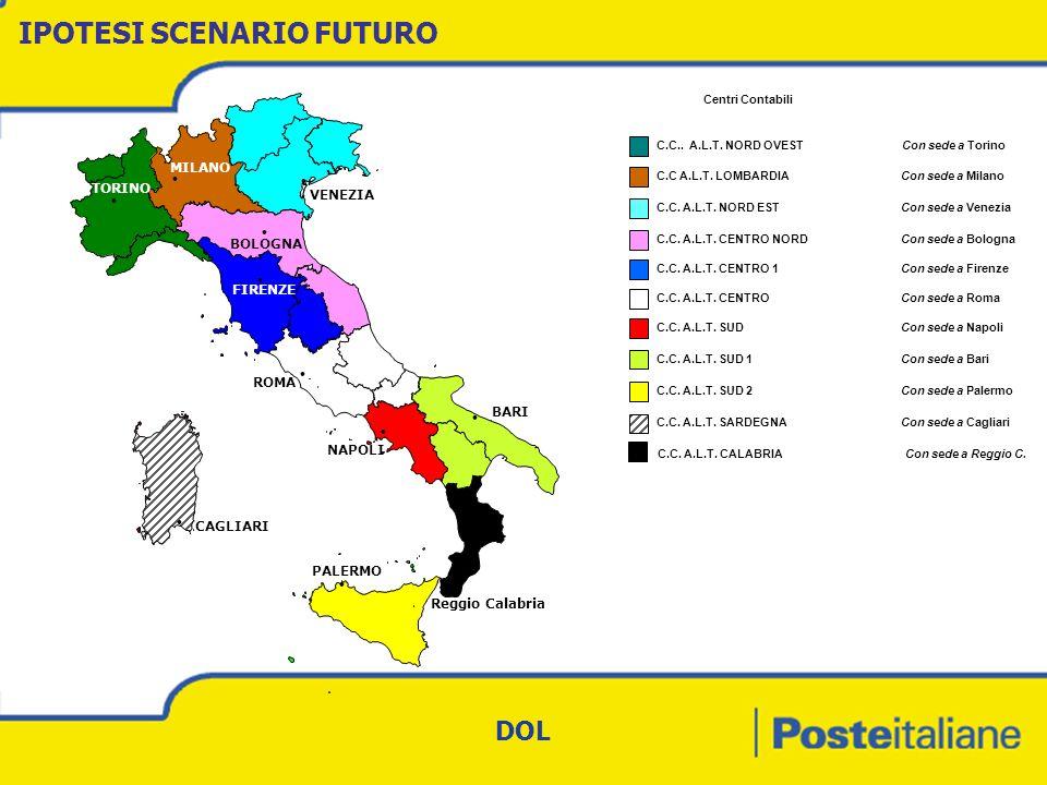 Centri Contabili C.C..A.L.T. NORD OVEST Con sede a Torino C.C A.L.T.