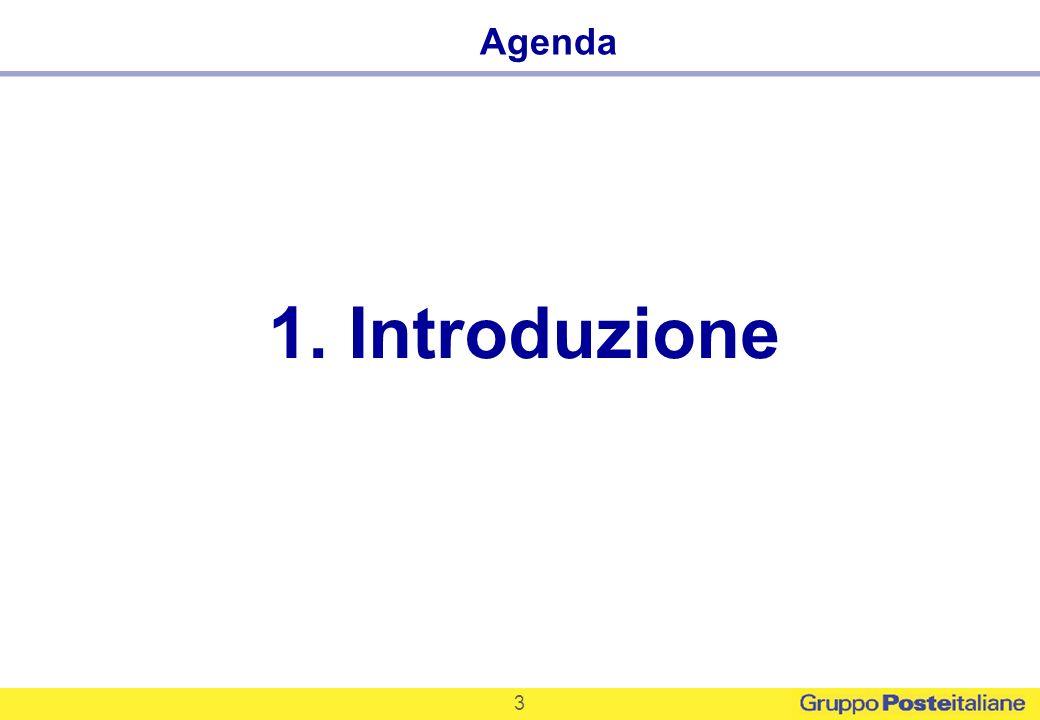 3 1. Introduzione Agenda