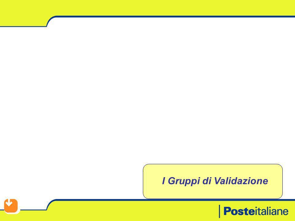I Gruppi di Validazione
