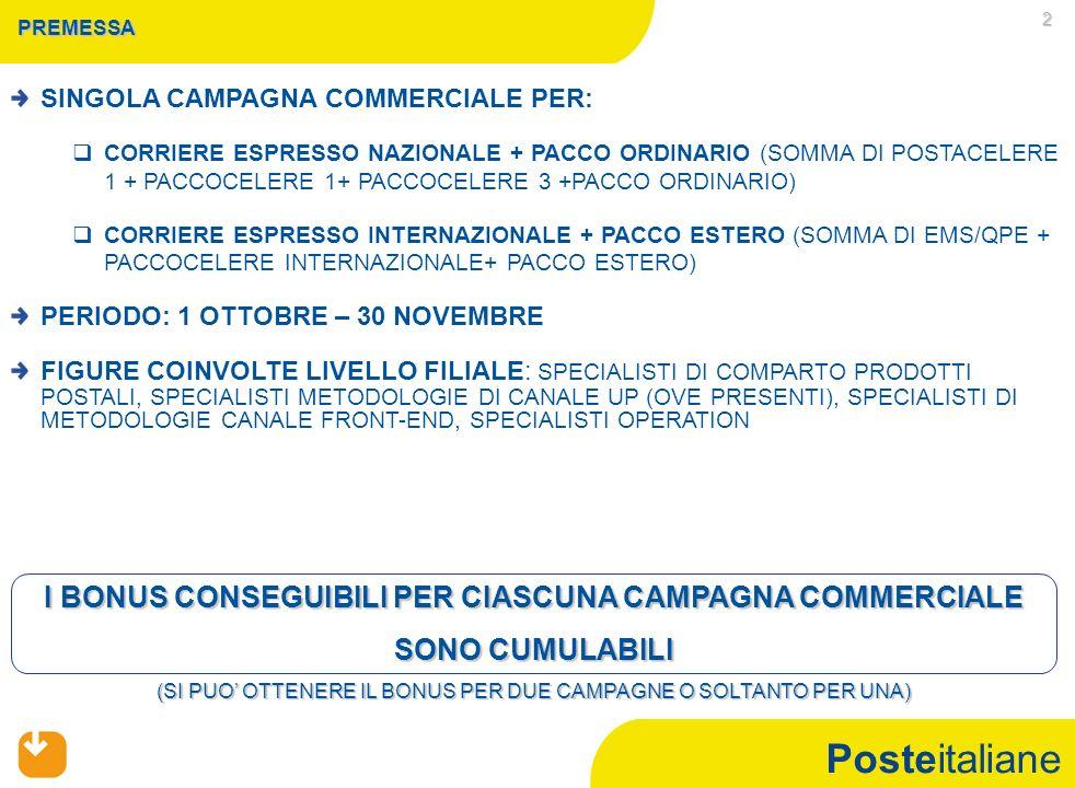 Mercato Privati CAMPAGNA COMMERCIALE CORRIERE ESPRESSO NAZIONALE+ PACCO ORDINARIO - 1 OTTOBRE - 30 NOVEMBRE 2010 -