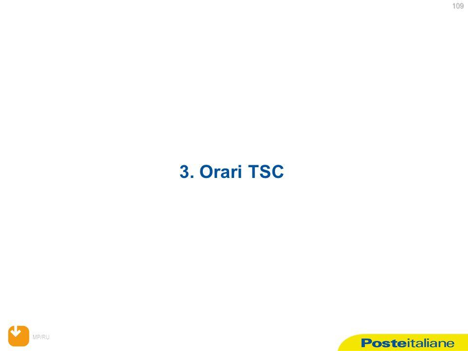 MP/RU 109 109 3. Orari TSC