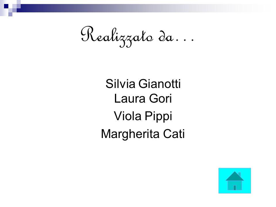 Realizzato da… Silvia Gianotti Laura Gori Viola Pippi Margherita Cati