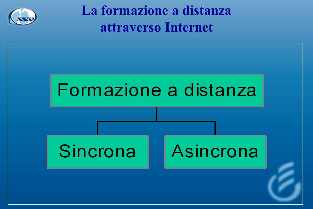 La formazione a distanza attraverso Internet