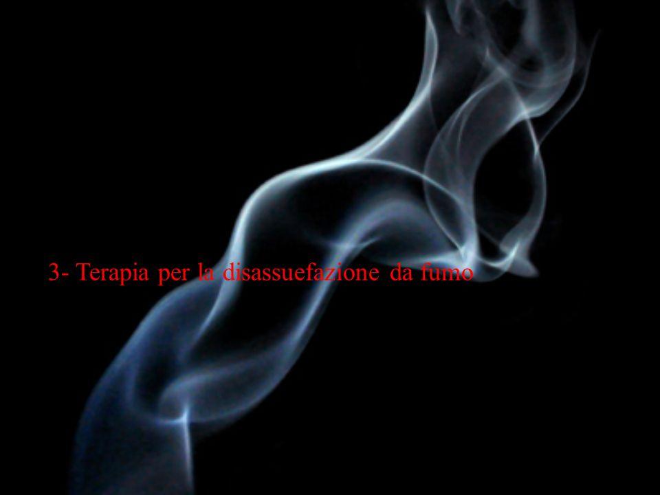 Terapia farmacologica Terapia non farmacologica Consigli medici brevi Consigli medici brevi Counselling individuale Counselling individuale Counselling di gruppo Counselling di gruppo Counselling telefonico proattivo Counselling telefonico proattivo Auto-aiuto Auto-aiuto