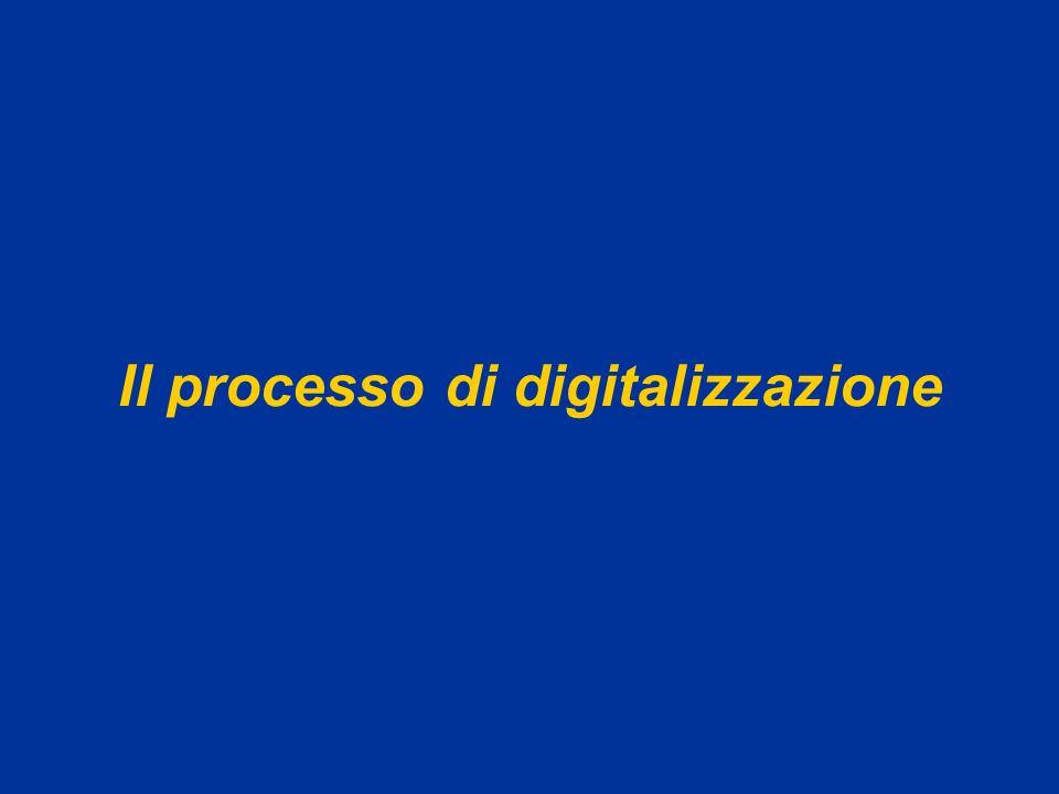 Il processo di digitalizzazione
