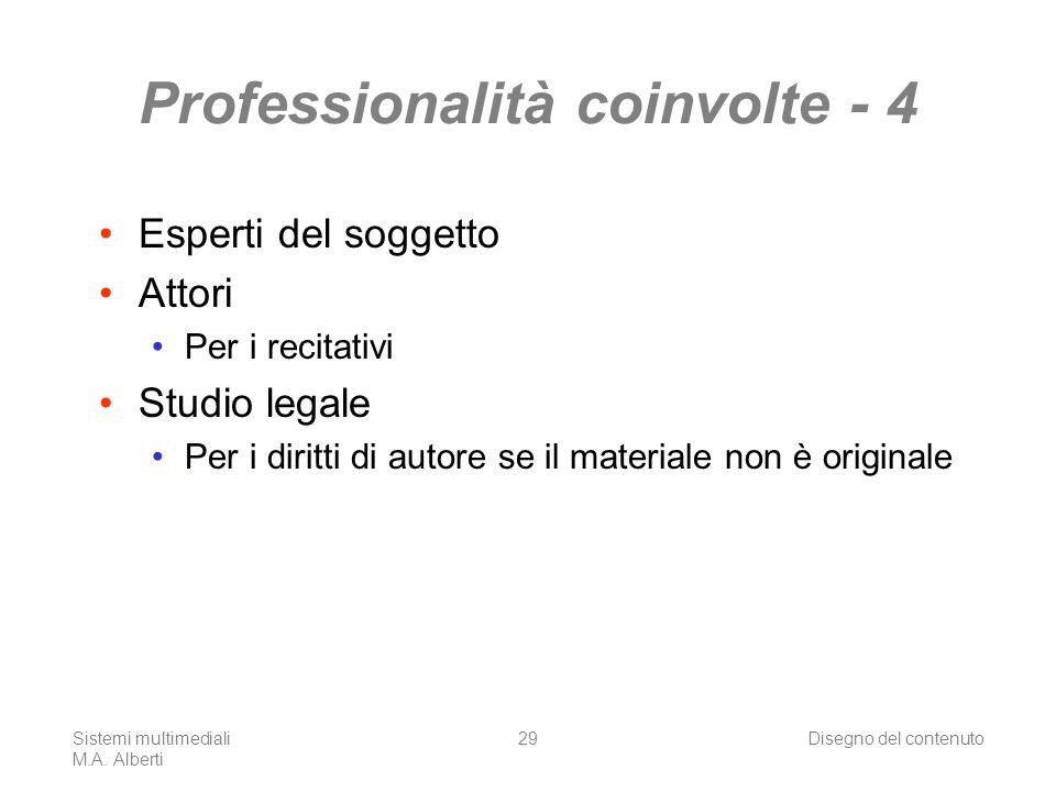 Sistemi multimediali M.A.