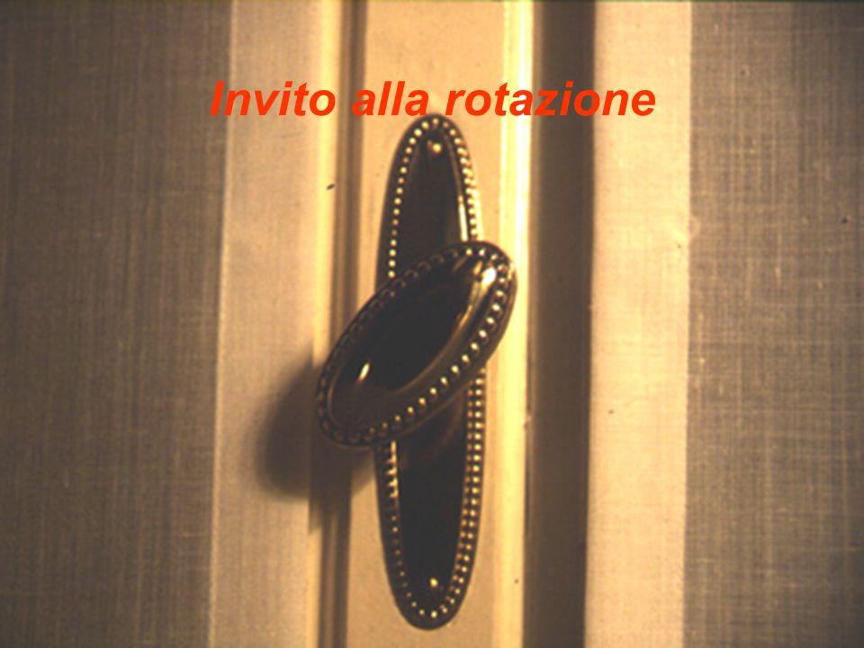 AA 2003/04Sistemi multimediali Gli artefatti 23 Invito alla rotazione