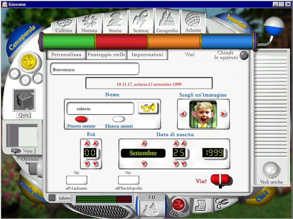 M.A. Alberti AA 2004/05 Sistemi multimediali Gli artefatti digitali 18