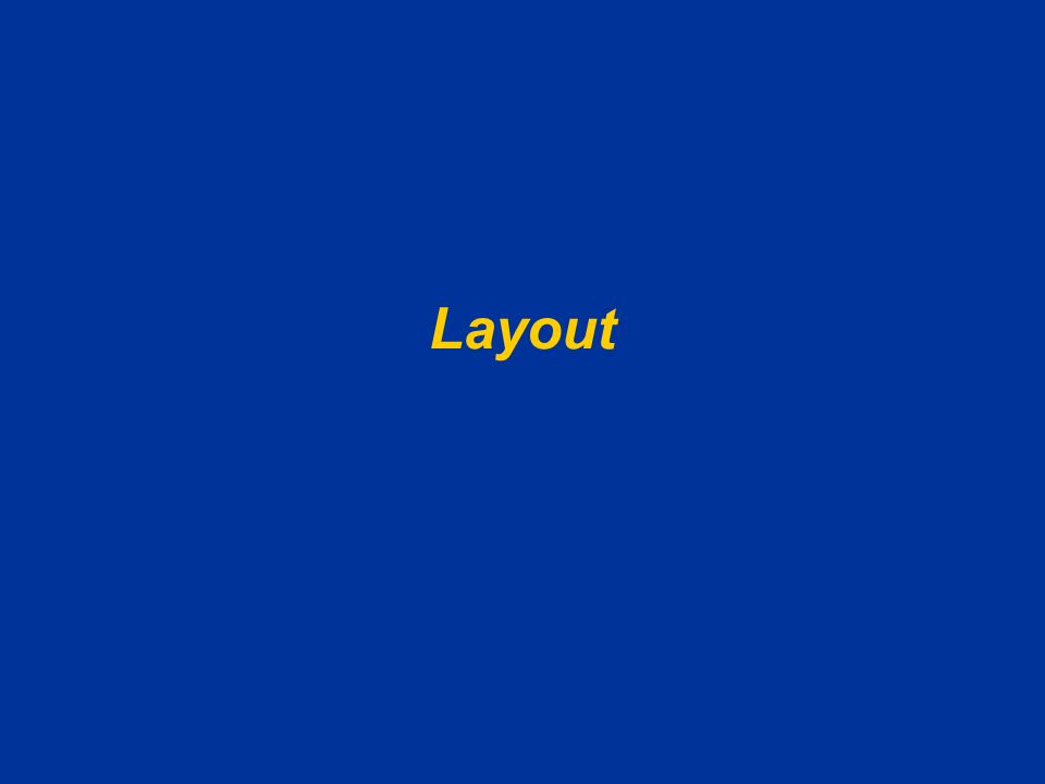 AA 2004/05Sistemi multimediali Disegno della presentazione 13 Troppo colore