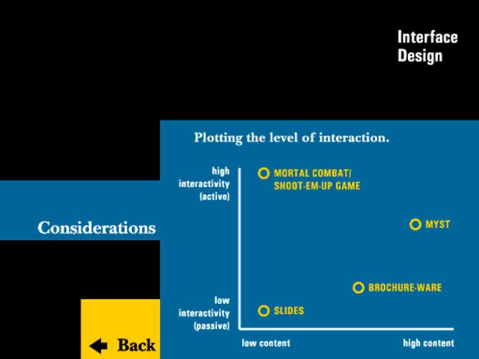 AA 2004/05Sistemi multimediali Disegno della presentazione 67