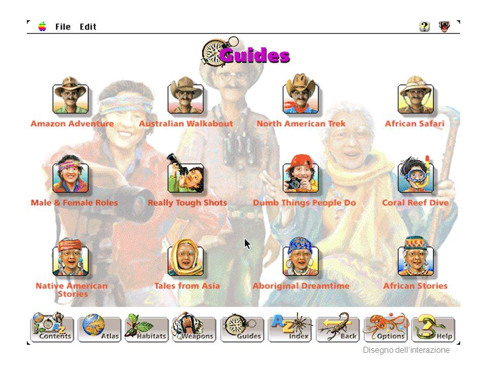 AA 2004/05Sistemi multimediali Disegno dellinterazione 13