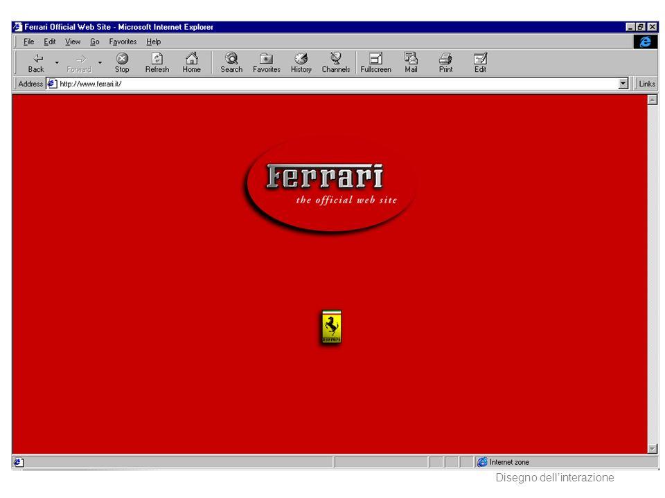 AA 2004/05Sistemi multimediali Disegno dellinterazione 32