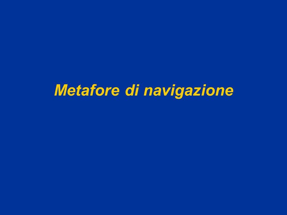 AA 2004/05Sistemi multimediali Disegno dellinterazione 44 Metafore Metafore per la navigazione Limmagine orienta la scelta (lagenda) Metafore funzionali Limmagine suggerisce la funzione delloggetto (la scrivania per il file system) Funzionano solo se lutente è familiare con limmagine.