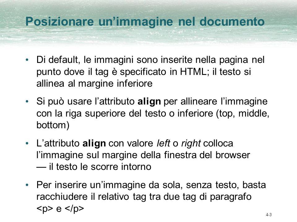 Corsi in rete sull HTML Introduzione allHTML di Dave Raggett http://www.diodati.org/w3c/raggett/overview.asp Guida HTML di W.