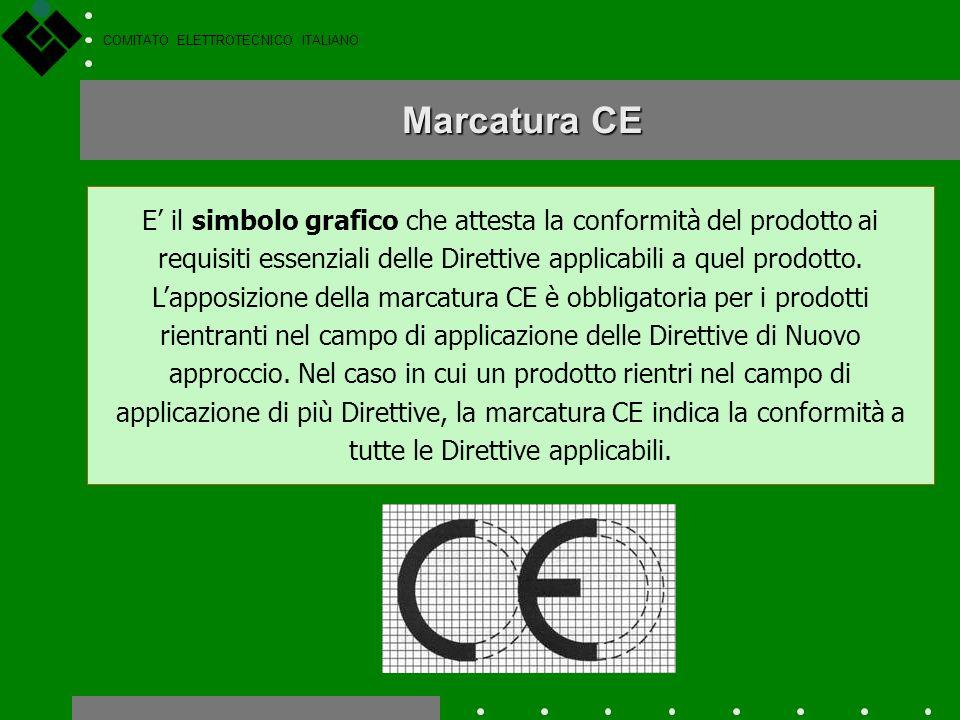 COMITATO ELETTROTECNICO ITALIANO Le norme tecniche diventano armonizzate quando vengono pubblicate nelle apposite liste della Gazzetta Ufficiale della