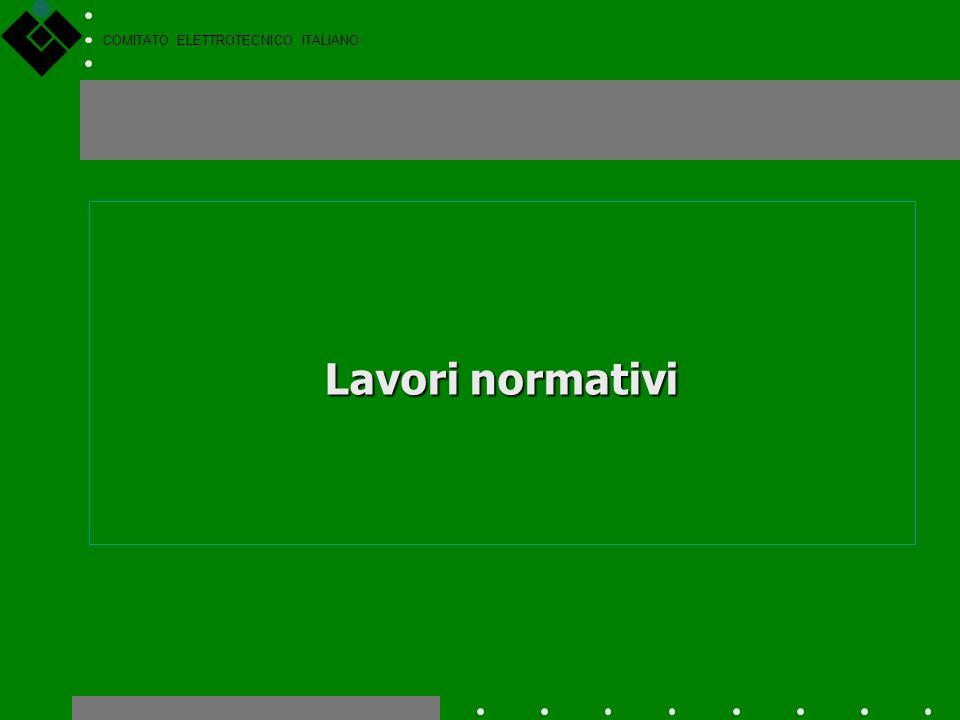COMITATO ELETTROTECNICO ITALIANO Direttive del Nuovo Approccio Alcune Direttive del Nuovo Approccio, di particolare interesse per il CEI: Materiale El
