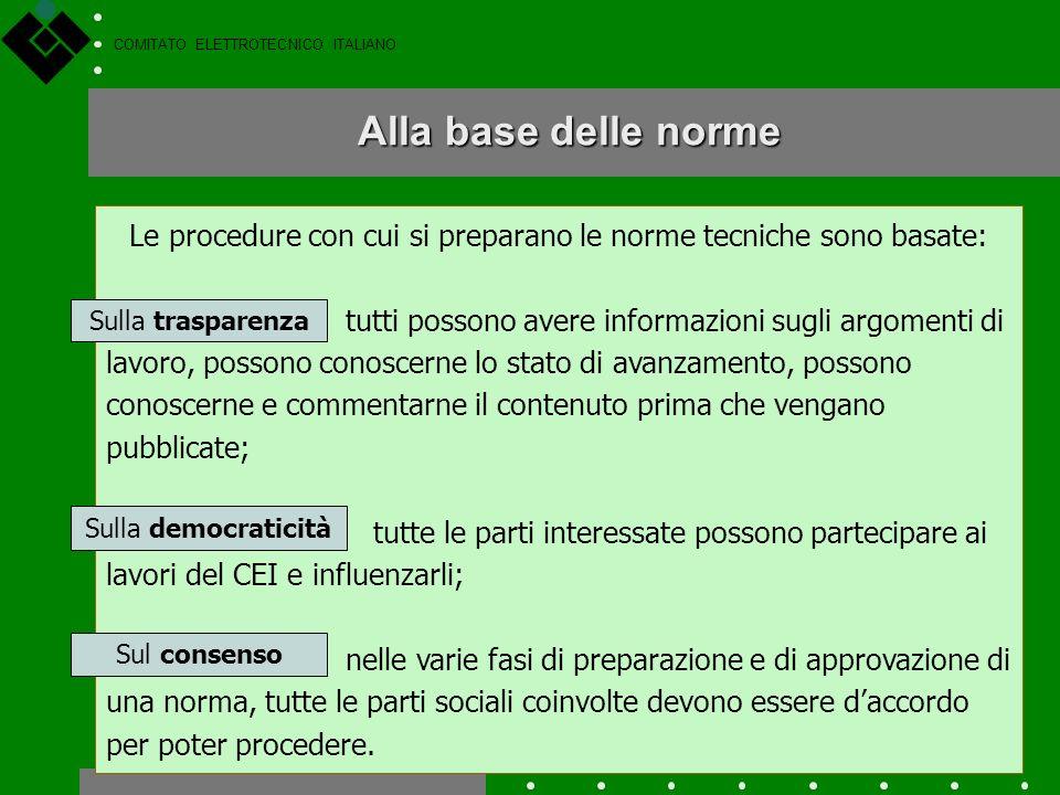 COMITATO ELETTROTECNICO ITALIANO Tutte le aziende, le associazioni, gli Enti, le Società, ecc. interessati alle attività del CEI possono diventare Soc